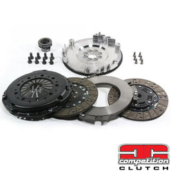 Twin Clutch Kit 1020 Nm for Subaru Legacy BL5, BP5, BM9, BR9 (2007~) - Competition Clutch