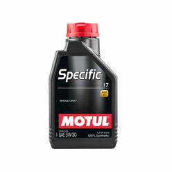 Motul Specific 17 Engine Oil 5W30 (Renault, Dacia) 1L
