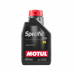 Motul Specific Engine Oil 17 FE 0W20 (Renault, Dacia) 1L