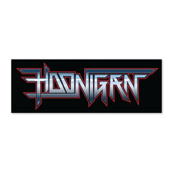Hoonigan Power Chord Sticker
