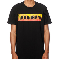 Hoonigan Aloha Censor Bar T-Shirt - Black