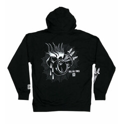 Hoonigan Tire Heart Slayer Hoodie - Black