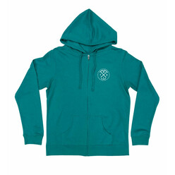 Hoonigan Firing Order Zipped Hoodie - Teal (Women's)