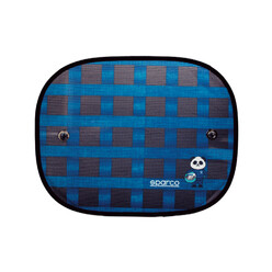 Sparco Sun Visor for Side Windows - Blue