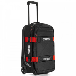 Sparco Travel Hand Luggage Trolley - Red