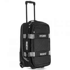 Sparco Travel Hand Luggage Trolley - Grey