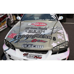 "Origin Labo ""Type 2"" Bonnet for Nissan Skyline R34"