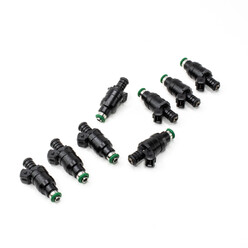Set of 8 Deatschwerks Top Feed Universal Injectors Ø14 | 800 cc/min