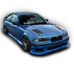 StolarWorks Kawaii Bodykit for BMW E36