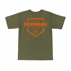 Hoonigan Bracket X T-Shirt - Military