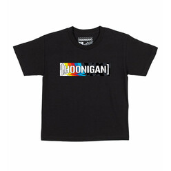 Hoonigan HRD20 Censor Bar Kids T-Shirt - Black