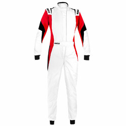 Sparco Competition Pro Lady FIA Racing Suit - White