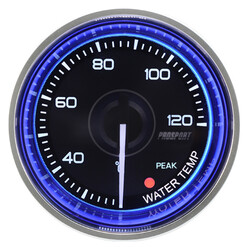 ProSport Crystal Water Temperature Gauge