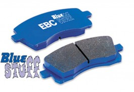EBC BlueStuff Front Brake Pads for Honda Odyssey 2.2 & 2.3 from 1994 to 1999 (DP5872NDX)
