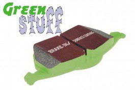 EBC GreenStuff Front Brake Pads for Toyota Auris 1.6 Akebono Calipers from 2006 (DP21791)