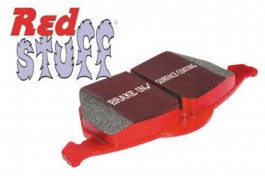 EBC RedStuff Front Brake Pads for Honda Civic 1.4 (EJ9) from 1998 to 2002 (DP3891C)