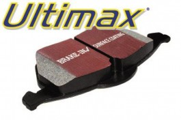 EBC Ultimax Rear Brake Pads for Mitsubishi Colt 1.6 (CA4A) from 1992 to 1996 (DP986)