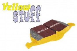 EBC YellowStuff Front Brake Pads for Honda Civic 1.6 (EU8) from 2002 to 2006 (DP4815R)
