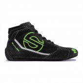 Sparco Slalom RB-3 Shoes - Black & Green (FIA)