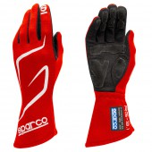 Sparco Land RG-3.1 Gloves - Red (FIA)