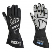 Sparco Tide RG-9 Gloves - Black (FIA)