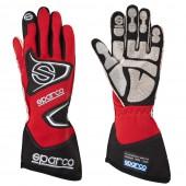 Sparco Tide RG-9 Gloves - Red (FIA)