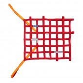 Sparco FIA Window Net - Red