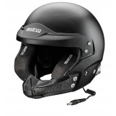 Sparco RJ-5i Flat Black Helmet (FIA)