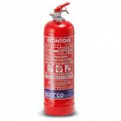 Sparco 2 kg Powder Fire Extinguisher