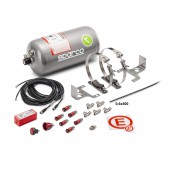 Sparco Electrically Operated Multi-Flo FIA Extinguisher System