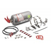 Sparco Mechanically Operated Multi-Flo FIA Extinguisher System