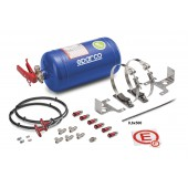 Sparco 4kg Plumbed in Fire Extinguisher Kit (FIA)