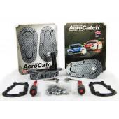 """Aerocatch """"Carbon Look"""" Flush Fit Locking Bonnet Pins"""