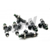 Deatschwerks 1000cc Injectors for Toyota Supra MK4 (2JZ-GTE, set of 6, top feed 11 mm, high imp.)