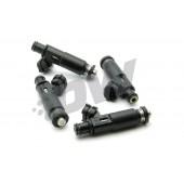Deatschwerks 1000cc Injectors for Subaru Legacy GT (EJ25, 2007-2012, set of 4)