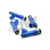 Deatschwerks 550cc Injectors for Toyota MR-S (1ZZ-FE / 2ZZ-GE, set of 4)