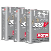 Pack Promo Motul 300V Compétition 15W50 (3 x 2L)