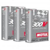 Pack Promo Huile Motul 300V Power Racing 5W30 (3 x 2L)