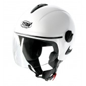 White Jet Trackday Helmet