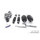 Audi TT, 2 roues motrices, jambes de force diamètre 50 mm (98-06) | Coupelles : OE/OE | Ressorts : 9/6