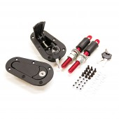 DriftShop Flush Fit Bonnet Pins - Locking