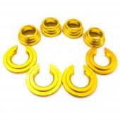 Colliers de Rigidification des Silentblocs de Berceau Arrière (Subframe Collars)
