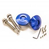 """Boutons Type """"Quick Latch"""" - Attache-Rapides Carrosserie, Bleus"""
