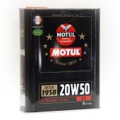 Huile Motul Historique - 20W50