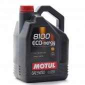 Motul 5W30 8100 ECO-nergy Engine Oil (Ford, Renault) 5L