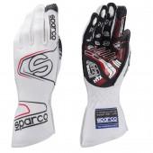 Sparco Arrow Evo RG-7 Gloves - White (FIA)