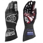 Sparco Arrow Evo RG-7 Gloves - Black & White (FIA)