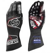 Sparco Arrow Evo RG-7 Gloves - Black & Red (FIA)