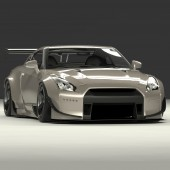 Rocket Bunny Bodykit for Nissan GT-R