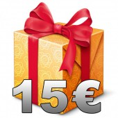 Gift Certificate - 15 €